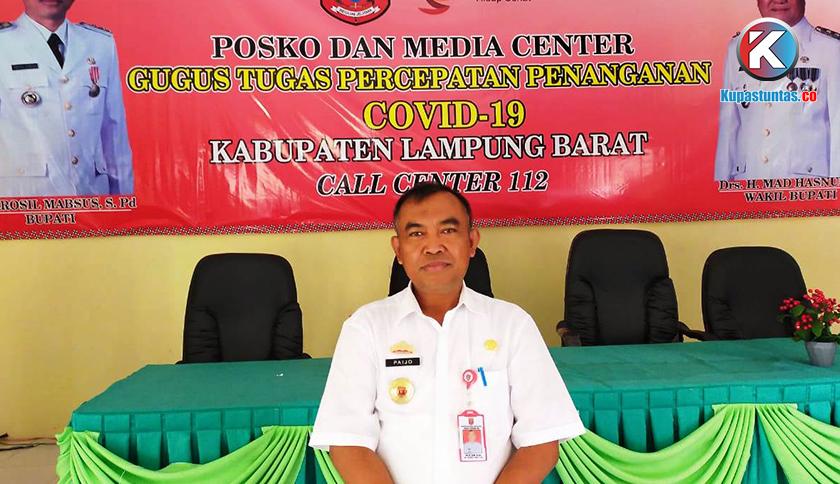 Kupas Tuntas Dinas Kesehatan Lampung Barat Tangani Corona Gunakan Anggaran Surveilans