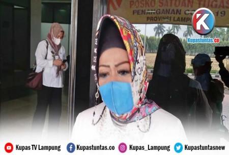 Kadinkes Reihana : Lampung Masih Butuh 10 Juta Lebih Dosis Vaksin Covid-19